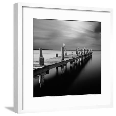 Time-Moises Levy-Framed Art Print