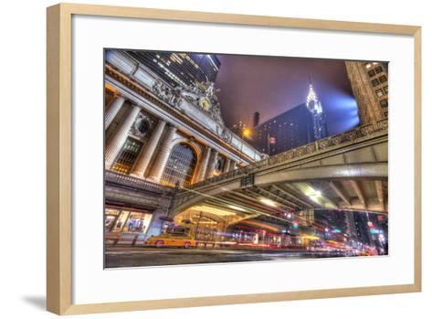 Grand Central-Moises Levy-Framed Art Print