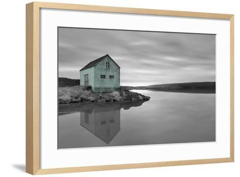 My Place BW 1 - Pop-Moises Levy-Framed Art Print