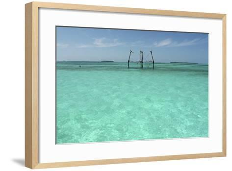 Hemingway's Platform-Robert Goldwitz-Framed Art Print