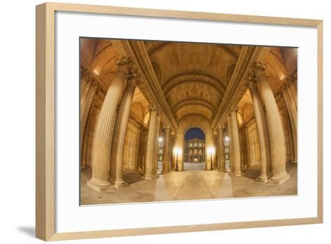 Pillars-Sebastien Lory-Framed Art Print