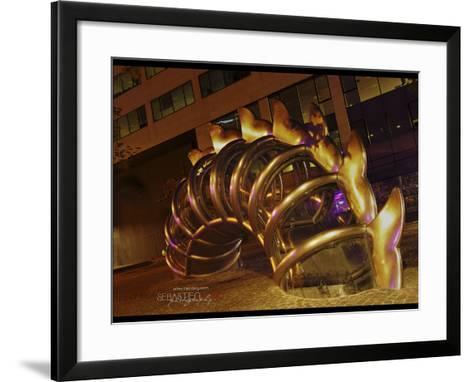Nuit Blanche-Sebastien Lory-Framed Art Print