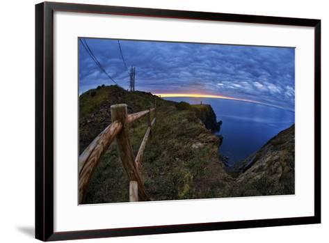 Lighthouse-Sebastien Lory-Framed Art Print