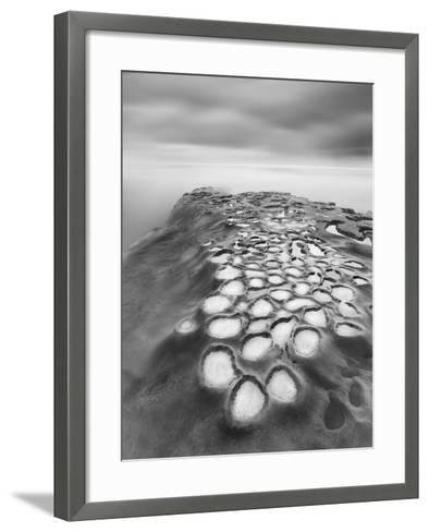 Crateres BW-Moises Levy-Framed Art Print