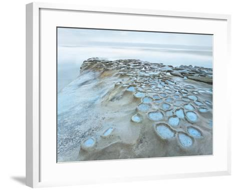 Crateres Color-Moises Levy-Framed Art Print