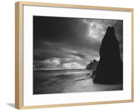 Ruby Beach 2-Moises Levy-Framed Art Print