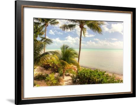 Quiet Beach-Robert Goldwitz-Framed Art Print