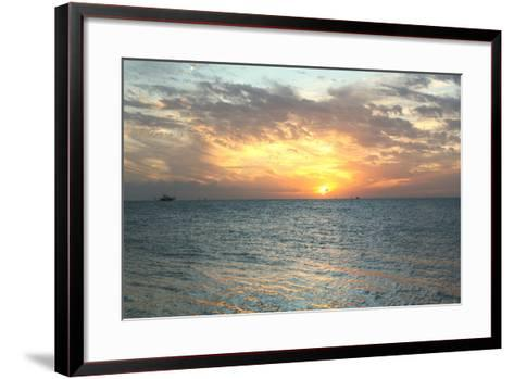 Key West Sunset VII-Robert Goldwitz-Framed Art Print