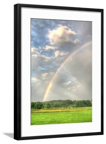 Rainbow Vertical-Robert Goldwitz-Framed Art Print
