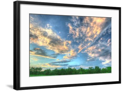 Back 20 Sunset 3-Robert Goldwitz-Framed Art Print