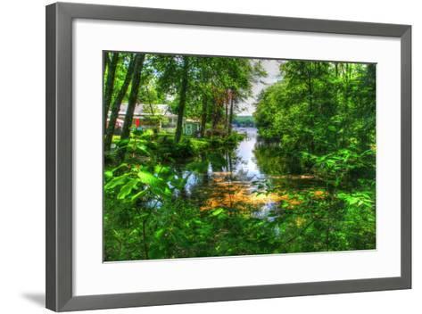 Pond Cove-Robert Goldwitz-Framed Art Print