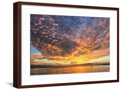 Key West Hobie Sunset-Robert Goldwitz-Framed Art Print