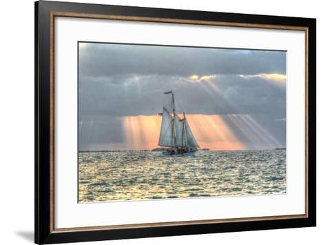 Key West Sunset XV-Robert Goldwitz-Framed Art Print