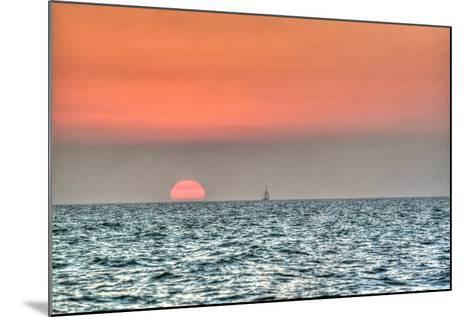 Key West Sunset X-Robert Goldwitz-Mounted Photographic Print