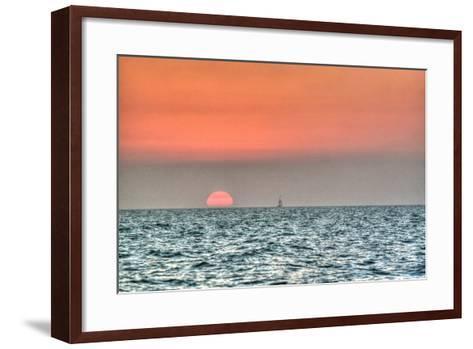 Key West Sunset X-Robert Goldwitz-Framed Art Print