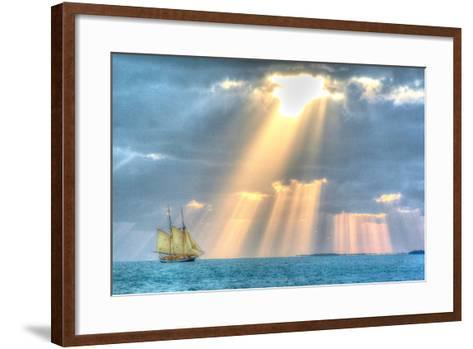 Key West Sunset XIII-Robert Goldwitz-Framed Art Print