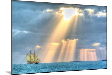 Key West Sunset XIII-Robert Goldwitz-Mounted Photographic Print