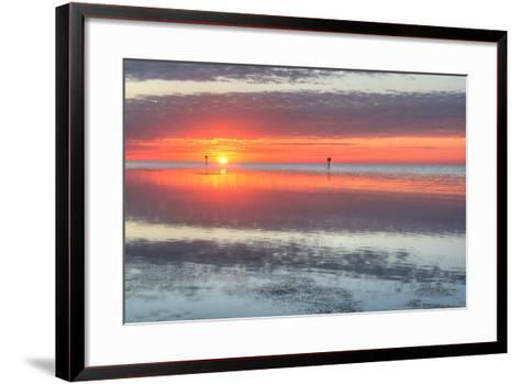 Key West Sunrise III-Robert Goldwitz-Framed Art Print