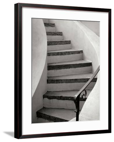 Savannah Stairwell-Jim Christensen-Framed Art Print