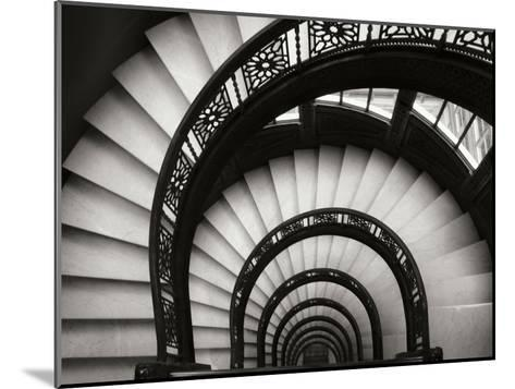 Rookery Stairwell-Jim Christensen-Mounted Photographic Print