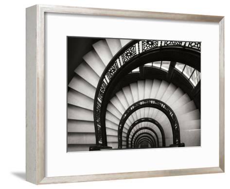 Rookery Stairwell-Jim Christensen-Framed Art Print
