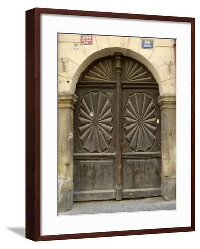Prague Door VI-Jim Christensen-Framed Art Print