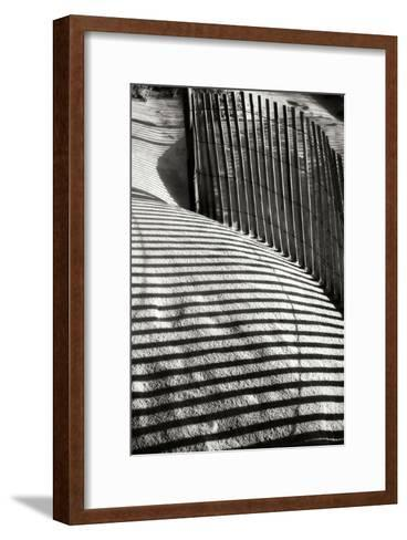 Dunes Fence VI-Alan Hausenflock-Framed Art Print