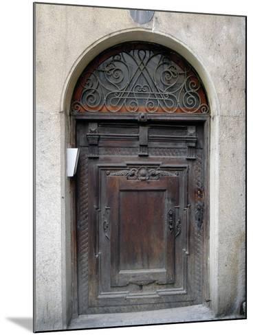 Prague Door III-Jim Christensen-Mounted Photographic Print