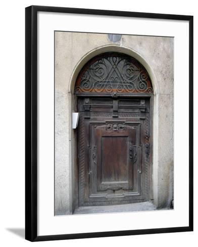 Prague Door III-Jim Christensen-Framed Art Print