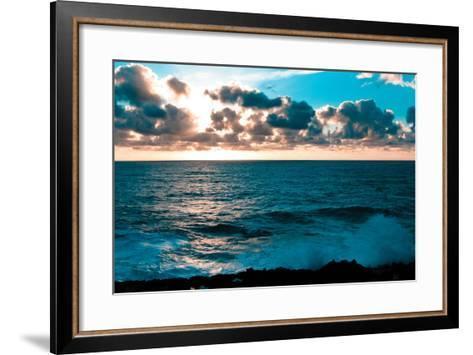 Depoe Bay Sunset I-Erin Berzel-Framed Art Print