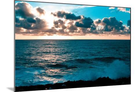 Depoe Bay Sunset I-Erin Berzel-Mounted Photographic Print