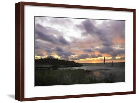 East Bay Sunrise I-Alan Hausenflock-Framed Art Print