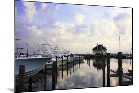 Atlantic Beach Marina I-Alan Hausenflock-Mounted Photographic Print