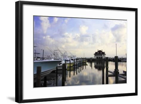 Atlantic Beach Marina I-Alan Hausenflock-Framed Art Print
