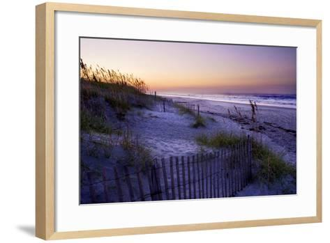 Lavender Beach II-Alan Hausenflock-Framed Art Print