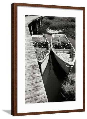 Nets and Boats 2-Alan Hausenflock-Framed Art Print