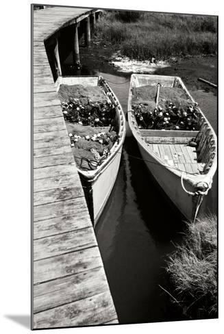 Nets and Boats 2-Alan Hausenflock-Mounted Photographic Print