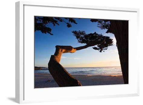 Carmel Sunset 1-Alan Hausenflock-Framed Art Print