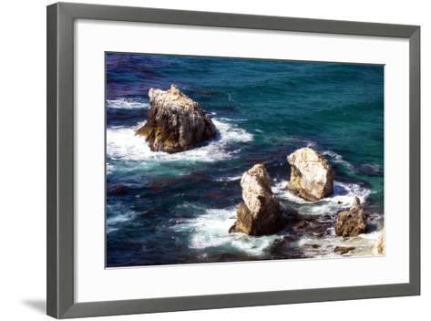 Garrapata Highlands 9-Alan Hausenflock-Framed Art Print
