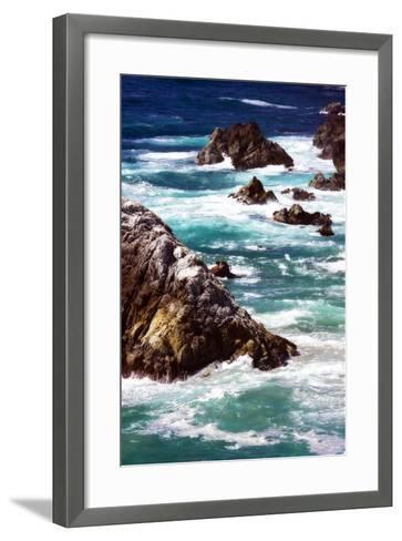 Garrapata Highlands 6-Alan Hausenflock-Framed Art Print