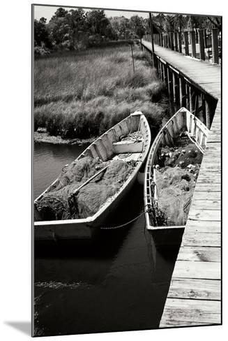 Nets and Boats 1-Alan Hausenflock-Mounted Photographic Print