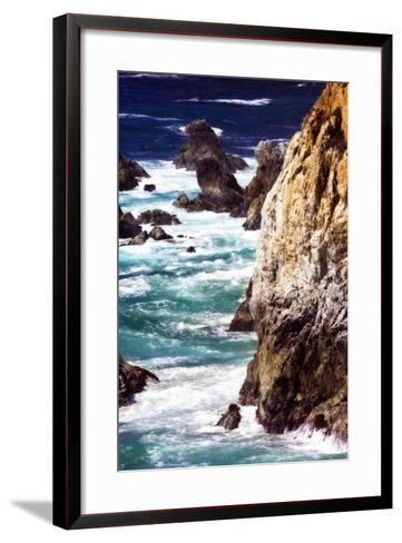 Garrapata Highlands 7-Alan Hausenflock-Framed Art Print