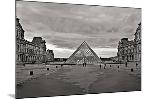 Pyramid at the Louvre I-Rita Crane-Mounted Photographic Print
