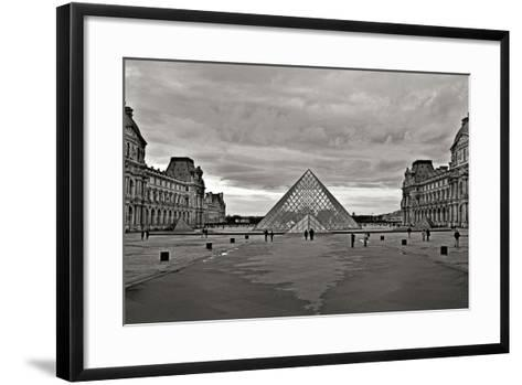 Pyramid at the Louvre I-Rita Crane-Framed Art Print