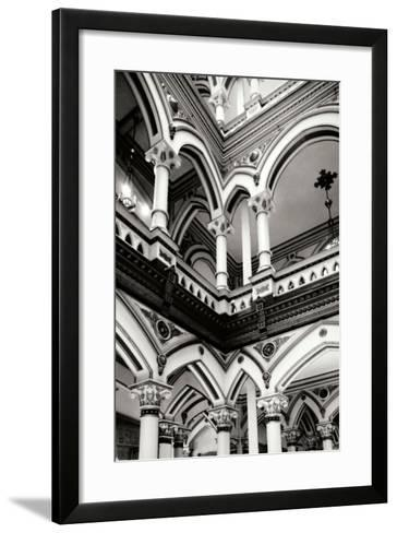 Moorish Balconies II-Alan Hausenflock-Framed Art Print