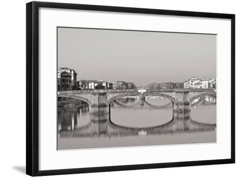 Tuscan Bridge III-Rita Crane-Framed Art Print