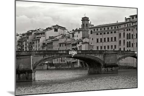 Tuscan Bridge IV-Rita Crane-Mounted Photographic Print