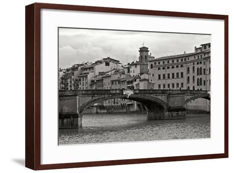 Tuscan Bridge IV-Rita Crane-Framed Art Print