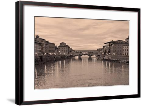 Ponte Vecchio VIII-Rita Crane-Framed Art Print