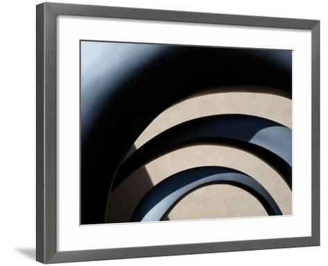Architectural Abstract II-Jim Christensen-Framed Art Print